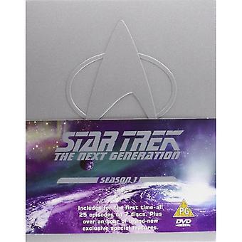 Star Trek Nästa generations DVD säsong 1 1990