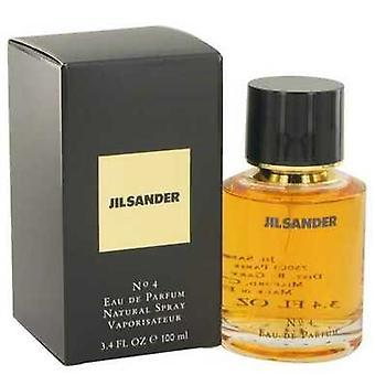 Jil Sander #4 por Jil Sander Eau De Parfum Spray 3.4 Oz (mujeres) V728-414418