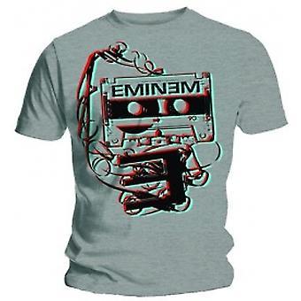 Eminem Tejp Mens Grå T-shirt: X Stor