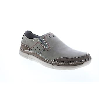 Clarks Adult Mens Trikeyon Step Slip On Casual Loafers & Slip Ons