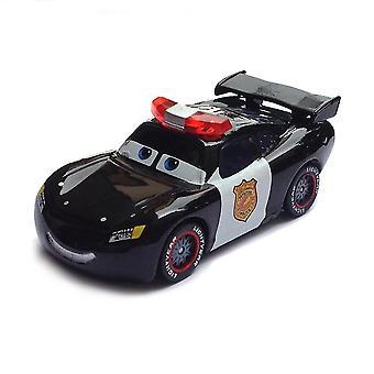 Pixar Autot Poliisi Salama Mcqueen Diecast Metalli Söpö Sarjakuva Elokuva Lelu Auto