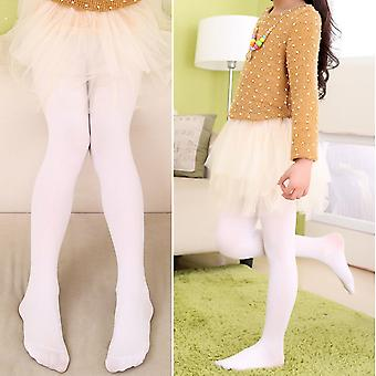 Girls Kids Colorful Candy Footed Stockings Leggings Ballet Dance Tight-pants Nylon Silk