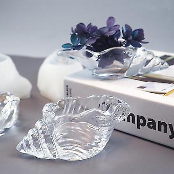 Diy Epoxy Mirror Three-dimensional Conch Makeup Egg Storage Shell Marine