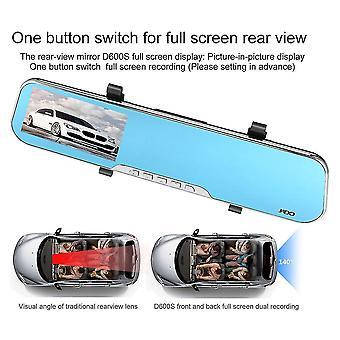 Jado D600s 4,3 calowy ekran LCD wyświetlacz single len 1080p car video recorder Dvr