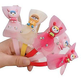 Dzieci Cute Akcesoria do włosów Odmiana Cartoon Fruit Lace Bangs Hair Band (STYLE2)