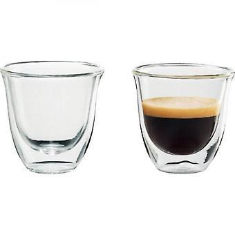 Delonghi Lot Of 2 Cups Espresso - 6 Cl