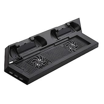 Stand Game Cooling Fan With Usb Hub-for Sony Playstation 4