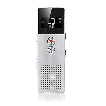 Enregistreur vocal avec prise en charge USB (Blanc)