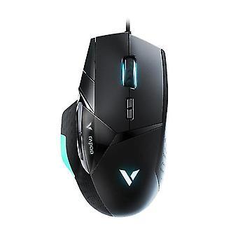 Langallinen peli hiiri säädettävä pelaaja tietokone hiiri