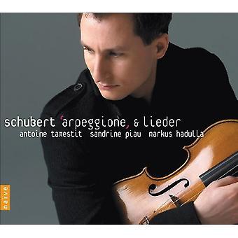 F. Schubert - Schubert: Arpeggione Sonata; Lieder [CD] USA import