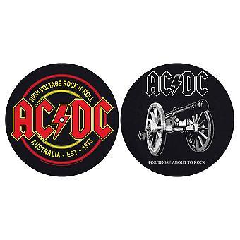 AC/DC - Para aqueles que estão prestes a balançar/alta tensão conjunto de slipmat