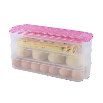 Kitchen Practical Vegetable And Fruit Fresh-keeping Airtight Food Packaging Box