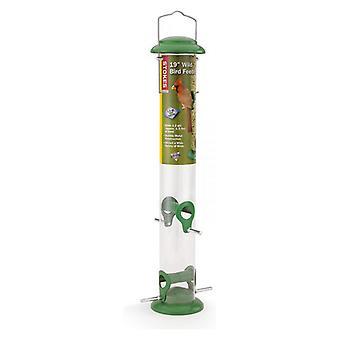 "More Birds Wild Bird Seed Feeder 19"" tall - 1.5 lbs capacity"