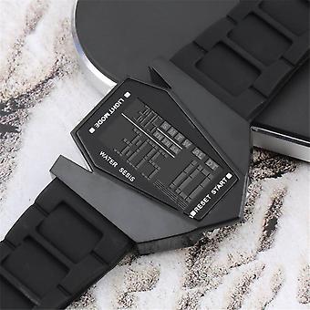 Light Digital Sports Quartz Silicone Fashion Led Wrist Watch Men's Boy's Watch