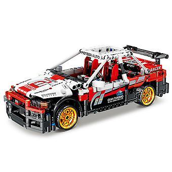 Mecanice masina particule mici asamblate blocuri de constructii Racing jucărie