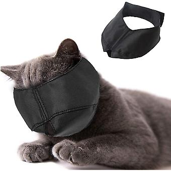 Nylon Cat Muzzle - Cat Muzzle - Pet Grooming Accessory - Prevents Scratches And Bites - Size L