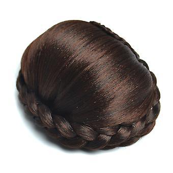 женщины Бобо волосы Короткие прямые синтетические волосы парик с челкой