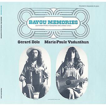 Gerard Dile - Bayou herinneringen: Louisiana Franse Folk Songs & Danc [CD] USA import