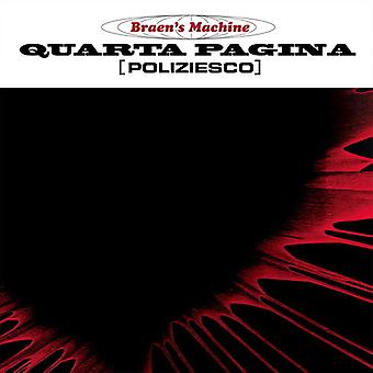 Braen's Machine - Quarta Pagina [Vinyl] USA import