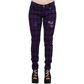 Vêtements interdits violet monter pantalon