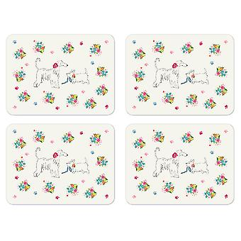 Cooksmart Dapper Dogs Set of 4 Placemats