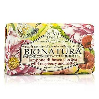 Pokrzywa - 250g i mydło roślinne zrównoważonego Bio Natura Nesti Dante - dzika malina / 8,8 oz