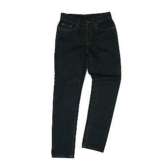 Mørk dongeri Jeans