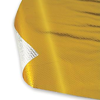 DEI 010392 Reflect-A-GOLD High-Temperature Heat Reflective Adhesive Backed Sheet, 12