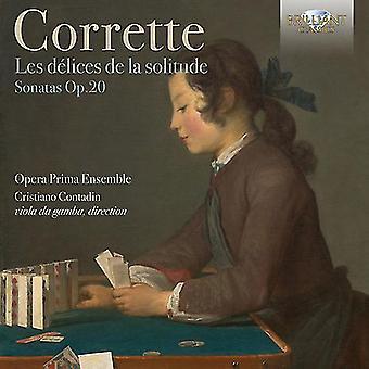 Corrette / Opera Prima Ensemble - Corrette: Les Delices De La Solitude Op 20 [CD] USA import
