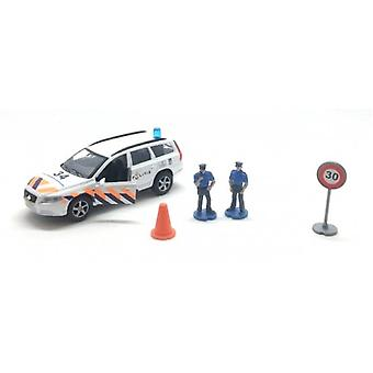 Volvo V70 police car with accessories