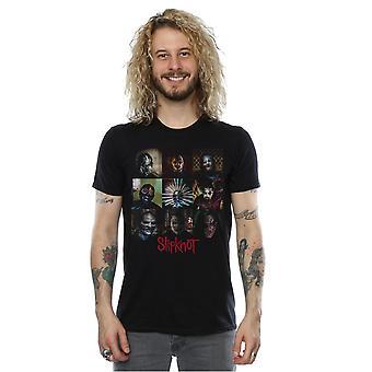Slipknot Men's Mask Blocks T-Shirt
