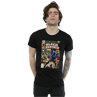 Marvel t-shirt copertina di pantera nera uomo