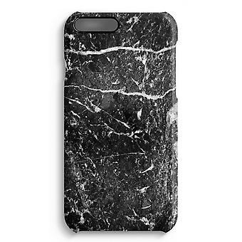 iPhone 7 Plus pełna obudowa głowiczki (błyszcząca) - czarny marmur