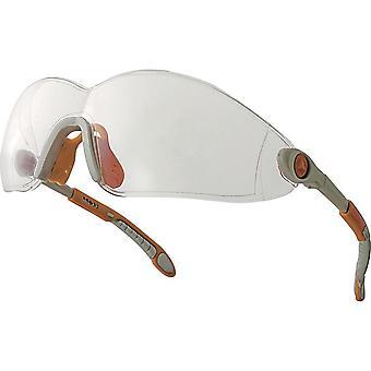 德尔塔加 Vulcano 可调聚碳酸酯工作安全眼镜