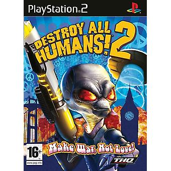 Destroy All Humans 2 (PS2) - New