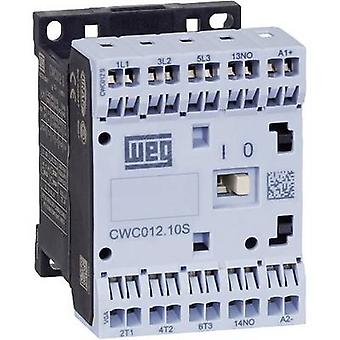 WEG CWC07-10-30C03S Contactor 1 pc(s) 3 makers 3 kW 24 V DC 7 A + auxiliary contact