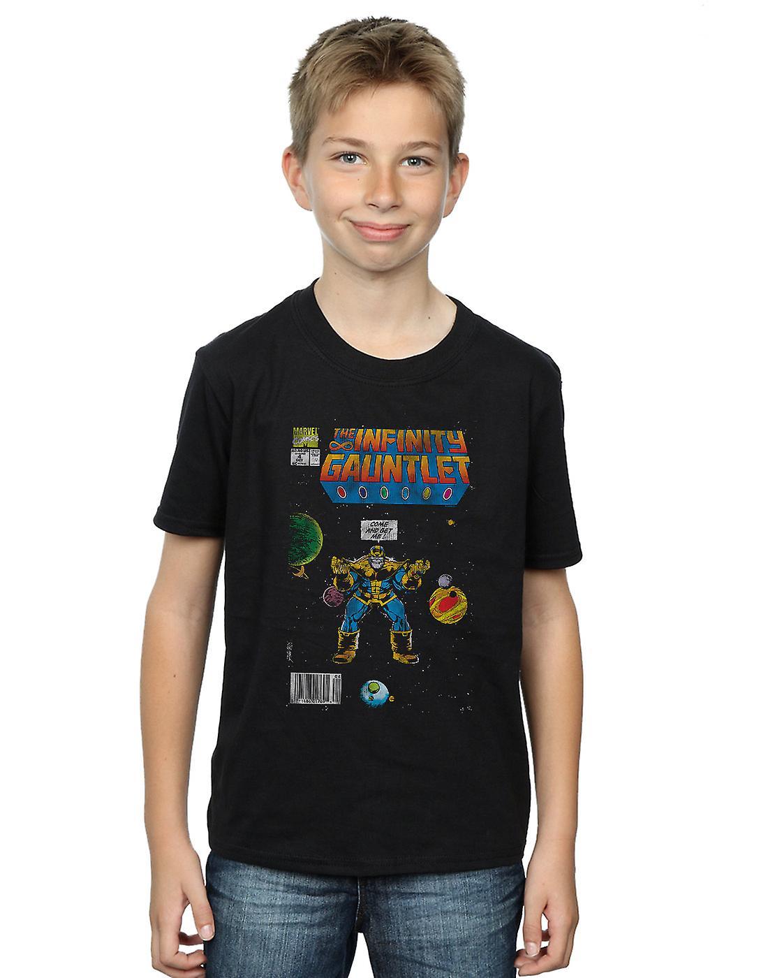 Marvel Comics Boys Infinity Gauntlet T-Shirt