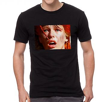The Fifth Element Scared Leeloo Men's Black T-shirt