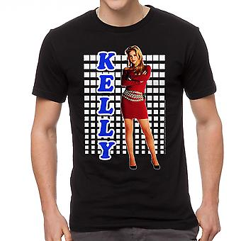 Married With Children Kelly Tight Red Dress Men's Black T-shirt