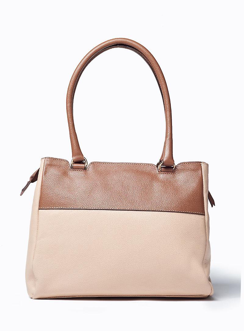 Viver Violla Duo Leather Shoulder Bag