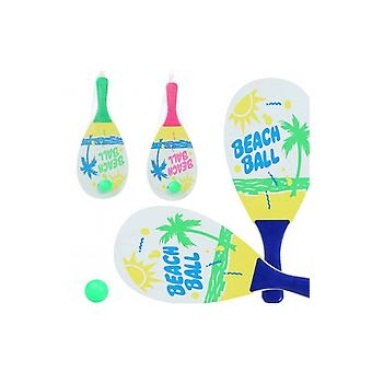 Tilbehør Beach tennis ketchere 2 stykker med bold