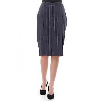 Paul Smith Vintage Paul Smuth Womens Pinstriped Skirt