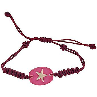 The Olivia Collection Pink Nautical Underwater Life Bracelet with REAL Starfish