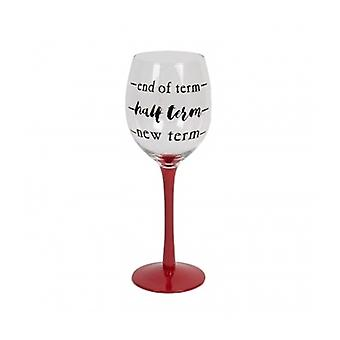 Teachers Wine Glass - Fun Teacher Gift