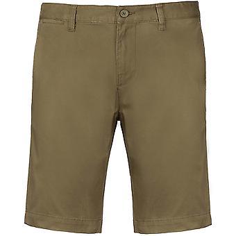Kariban Mens Chino Bermuda Shorts