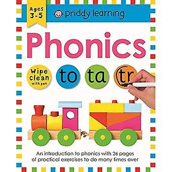 Phonics: Torka ren arbetsböcker (torka ren arbetsböcker)