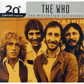 Who - Millennium Collection-20th Century Masters [CD] USA import