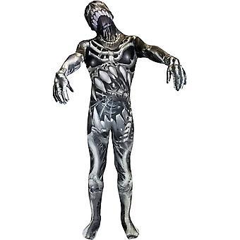 Morph Skeleton Child Costume