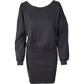Urban classics Mesdames robe épaule