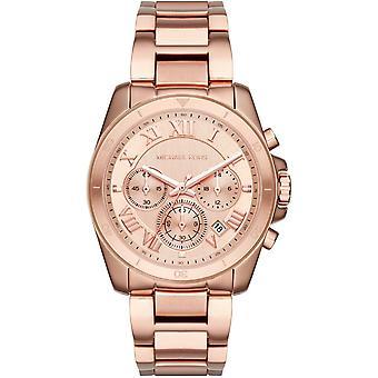 Michael Kors Brecken Damen Damen Chronograph Gold Wrist Watch MK6367